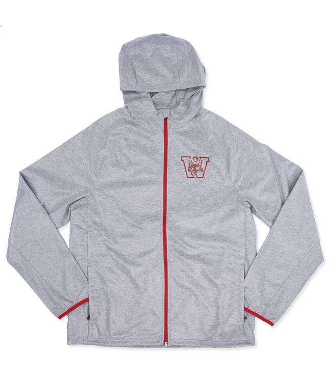 '47 BRAND Badgers Storm Rainshell Jacket