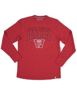 '47 BRAND BADGERS CADENCE LONG SLEEVE TEE
