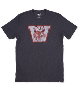'47 BRAND BADGERS SCRUM TEE