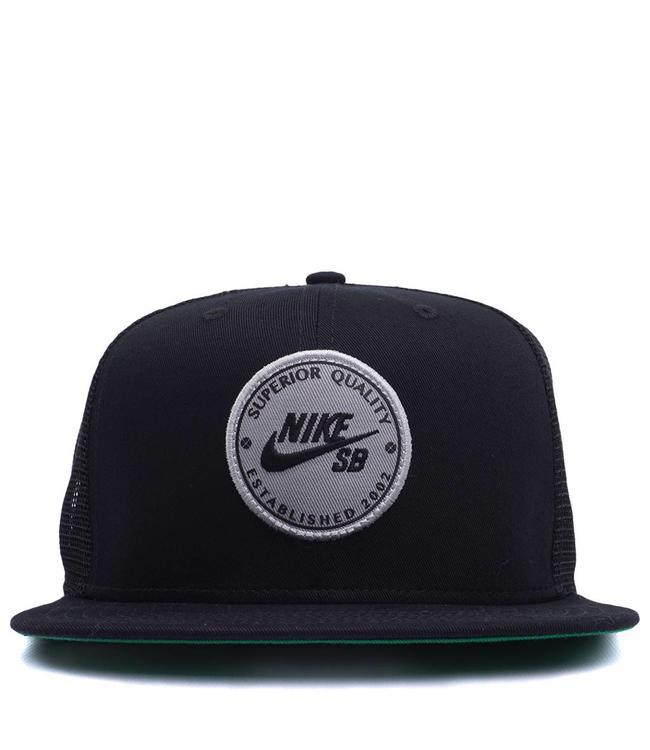 Nike SB Patch Trucker Hat - Black  e40b7d92577