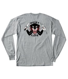 THE QUIET LIFE VENOM PANTHER LONG SLEEVE TEE