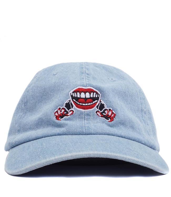 The Quiet Life Venom Lips Dad Hat - Denim - MODA3 91bc1f89f75