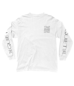 THE QUIET LIFE START MAKING SENSE LONG SLEEVE TEE