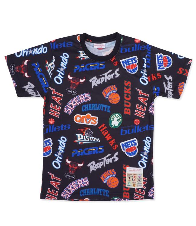 MITCHELL AND NESS All-Over Eastern Tee