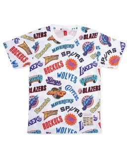 MITCHELL AND NESS ALL-OVER WESTERN TEE