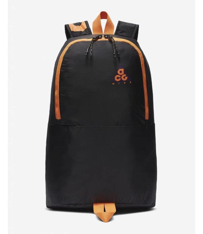 dcbfaa5c89bd Nike ACG Packable Backpack - Night Purple Black Bright Mandarin - MODA3