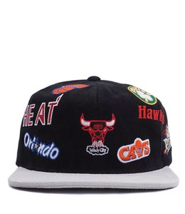 MITCHELL AND NESS ALL-OVER EAST SNAPBACK