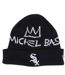NEW ERA WHITE SOX BASQUIAT SIGNATURE KNIT BEANIE
