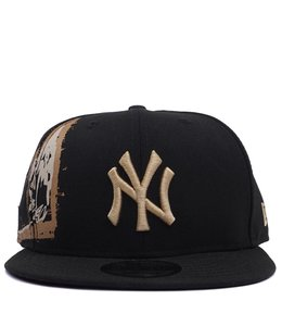 NEW ERA YANKEES BASQUIAT CROPPED CROWN SNAPBACK
