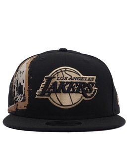 NEW ERA LAKERS BASQUIAT CROPPED CROWN SNAPBACK