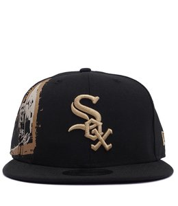 NEW ERA WHITE SOX BASQUIAT CROPPED CROWN SNAPBACK