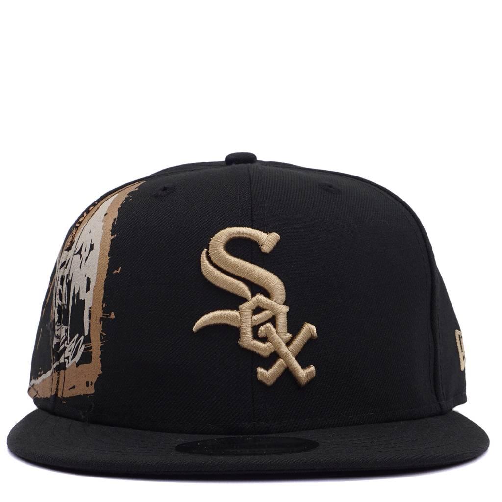 New Era Chicago White Sox Basquiat Cropped Crown Snapback - Black ... 8da71c05a79
