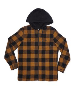 VANS KENTON HOODED FLANNEL SHIRT