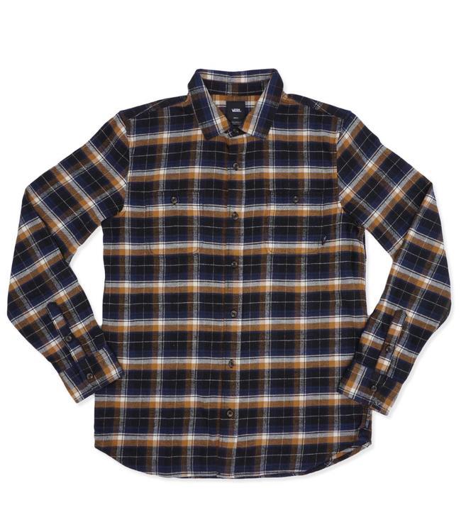 bf15a3347cc Vans Banfield Flannel Shirt - Black Rubber