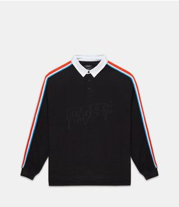 10.DEEP NOWHERE STRIPED RUGBY SHIRT