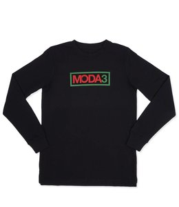 MODA3 OUTLINE LOGO LONG SLEEVE TEE