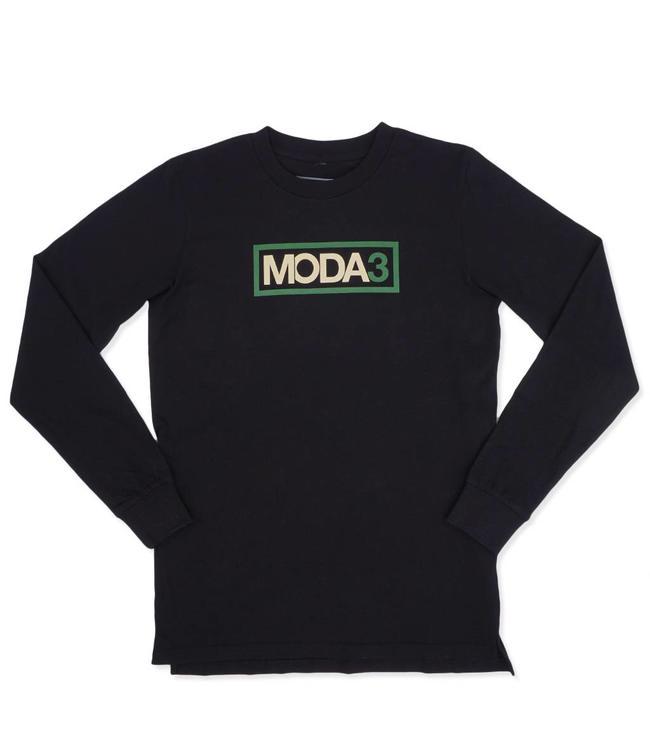 MODA3 Outline Logo Long Sleeve Tee