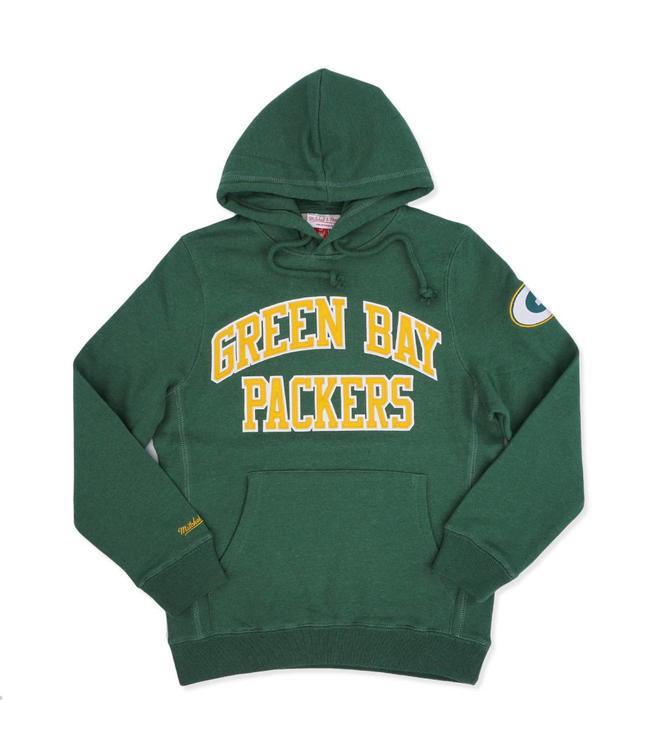 15aa799e0 Mitchell & Ness Green Bay Packers Playoff Win Hoodie - Green - MODA3