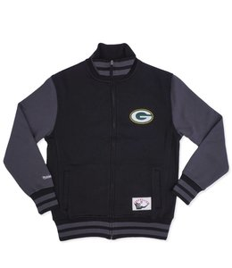MITCHELL AND NESS PACKERS VARSITY FLEECE JACKET