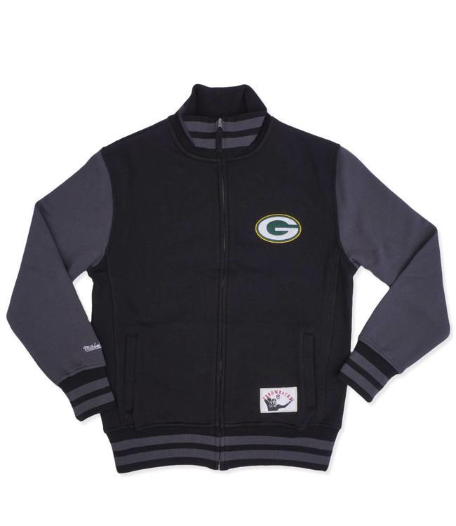 MITCHELL AND NESS Packers Varsity Fleece Jacket