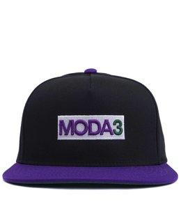 MODA3 BOX LOGO 2-TONE SNAPBACK HAT