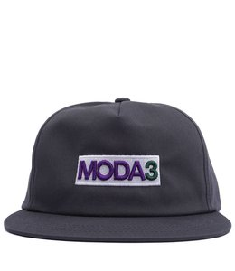 MODA3 BOX LOGO UNSTRUCTURED SNAPBACK HAT