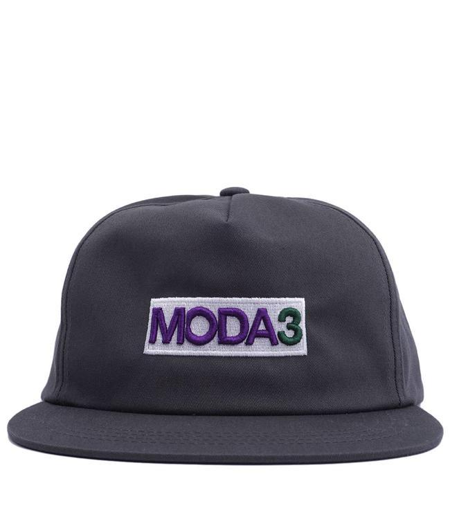 MODA3 Box Logo Unstructured Snapback Hat