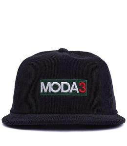 MODA3 BOX LOGO CORDUROY SNAPBACK HAT