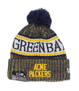 NEW ERA PACKERS 18 SPORT ACME BEANIE