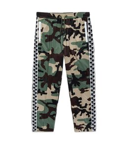 10.DEEP CHECKERED FLAG TRACK PANT