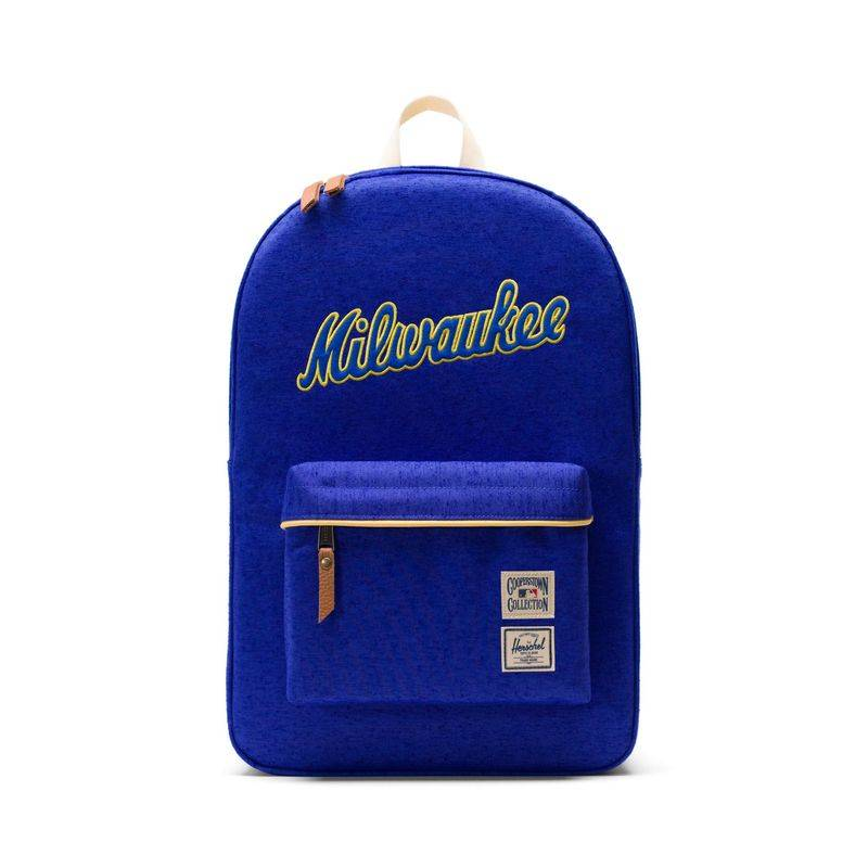 f88af7a8b5d Herschel Supply Co. Heritage MLB Milwaukee Brewers Backpack - Blue ...