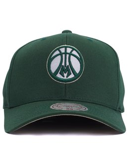 MITCHELL AND NESS BUCKS FLEX FIT 110 HAT
