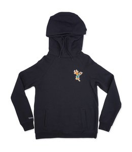 MITCHELL AND NESS BUCKS WOMEN'S FUNNEL NECK HOODIE