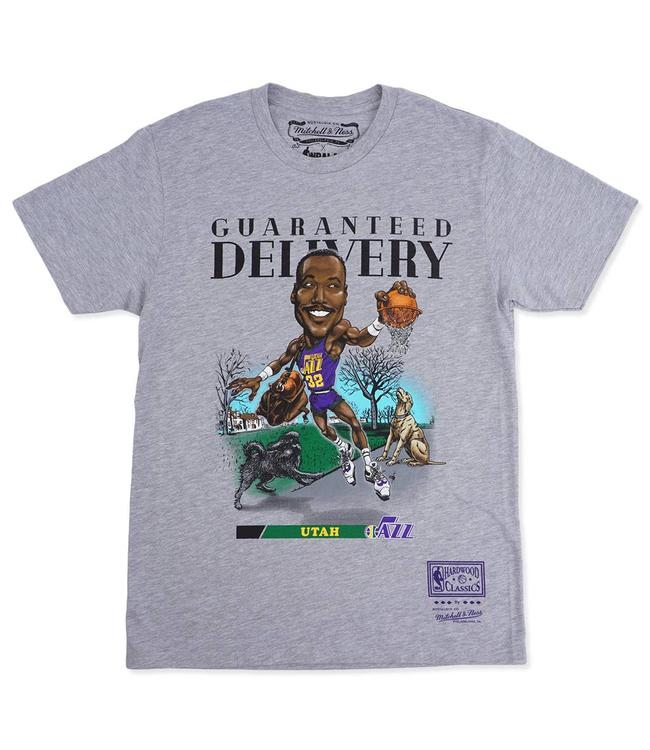 MITCHELL AND NESS Karl Malone Salem Classic Tee