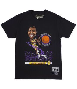 MITCHELL AND NESS MAGIC JOHNSON SALEM CLASSIC TEE