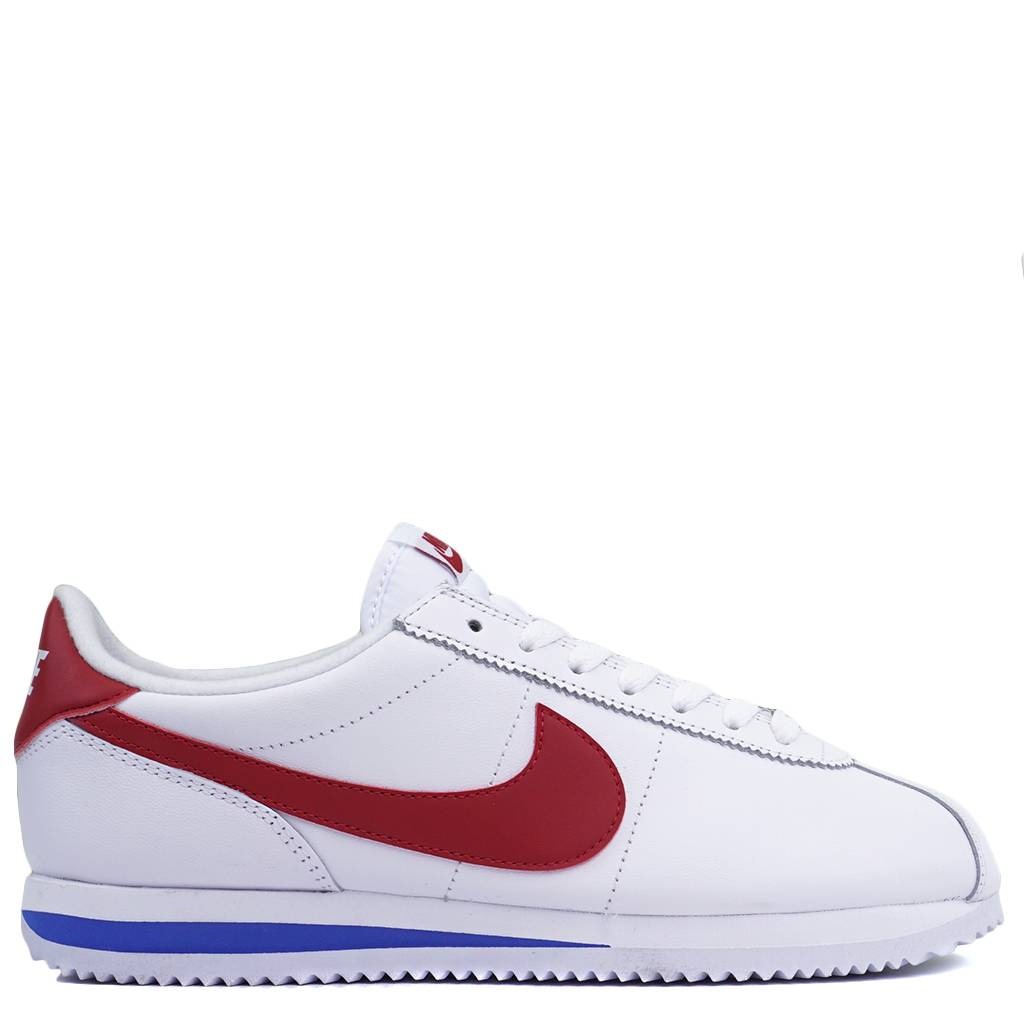 62560504f4c4 Nike Cortez Basic Leather OG - White Varsity Royal Varsity Red - MODA3