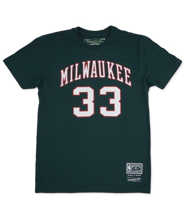 MITCHELL AND NESS Bucks Kareem #33 Jersey Tee
