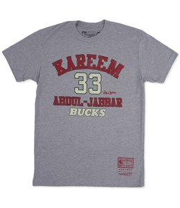 MITCHELL AND NESS BUCKS HWC KAREEM CLASSIC TEE
