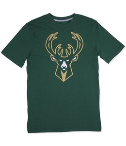 SPORTIQUE BUCKS ICON LOGO TEE