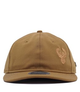 NEW ERA BUCKS FLAWLESS RETRO SNAPBACK HAT