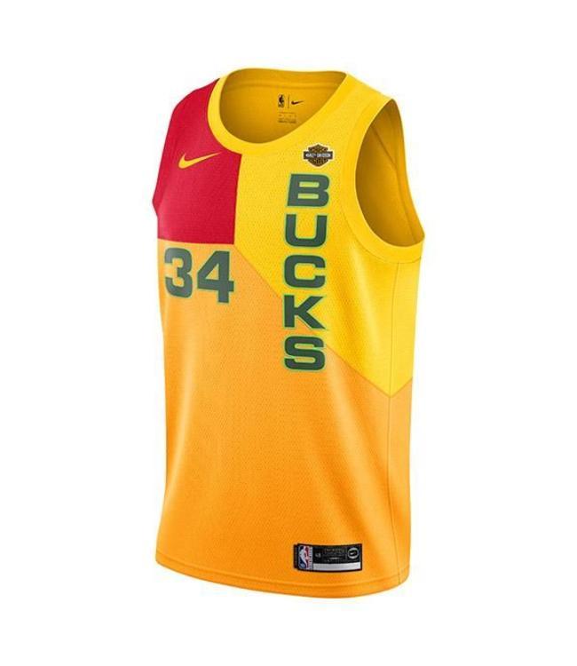 NIKE Bucks Giannis Antetokounmpo City Edition Swingman Jersey