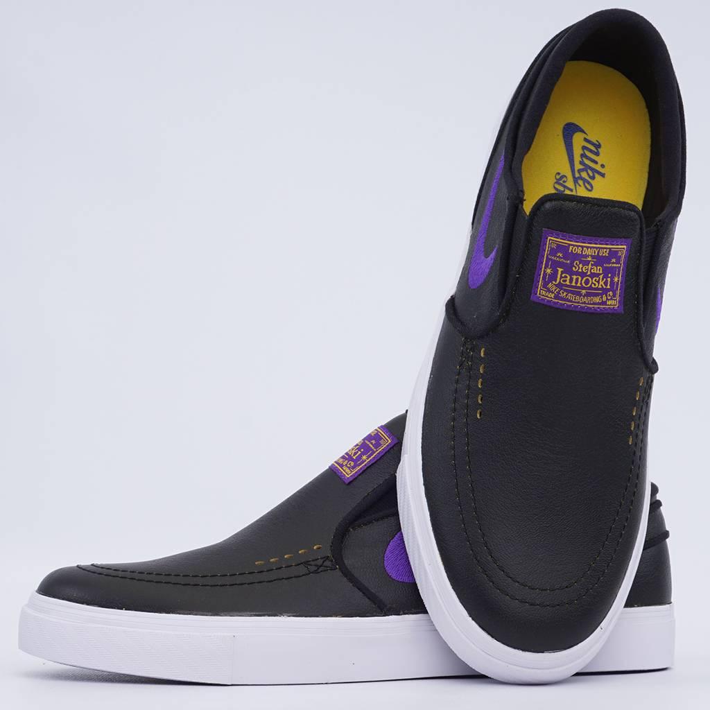 713d0ef62 Nike SB x NBA Zoom Janoski Slip - Black Amarillo Field Purple - MODA3