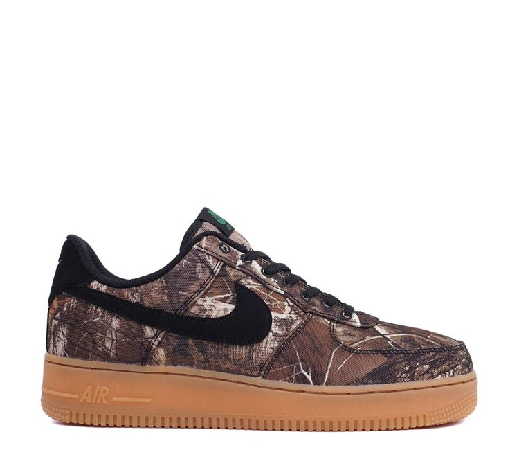 80989baeaa1 Nike Air Force 1  07 LV8 3  Realtree  - Black Aloe Verde Gum - MODA3