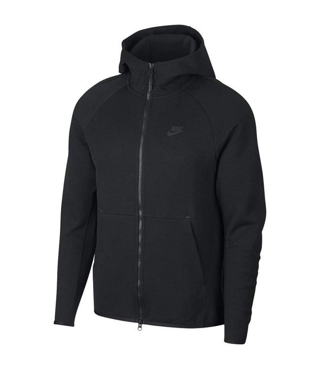 8b66261049e6 Nike Tech Fleece Full-Zip Hoodie - Black Black