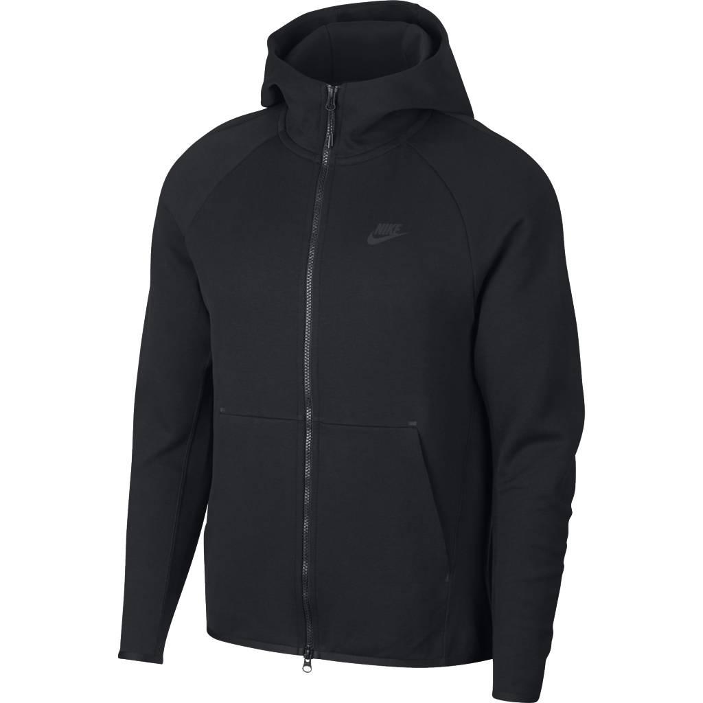 c64f68c0fee6 Nike Tech Fleece Full-Zip Hoodie - Black Black