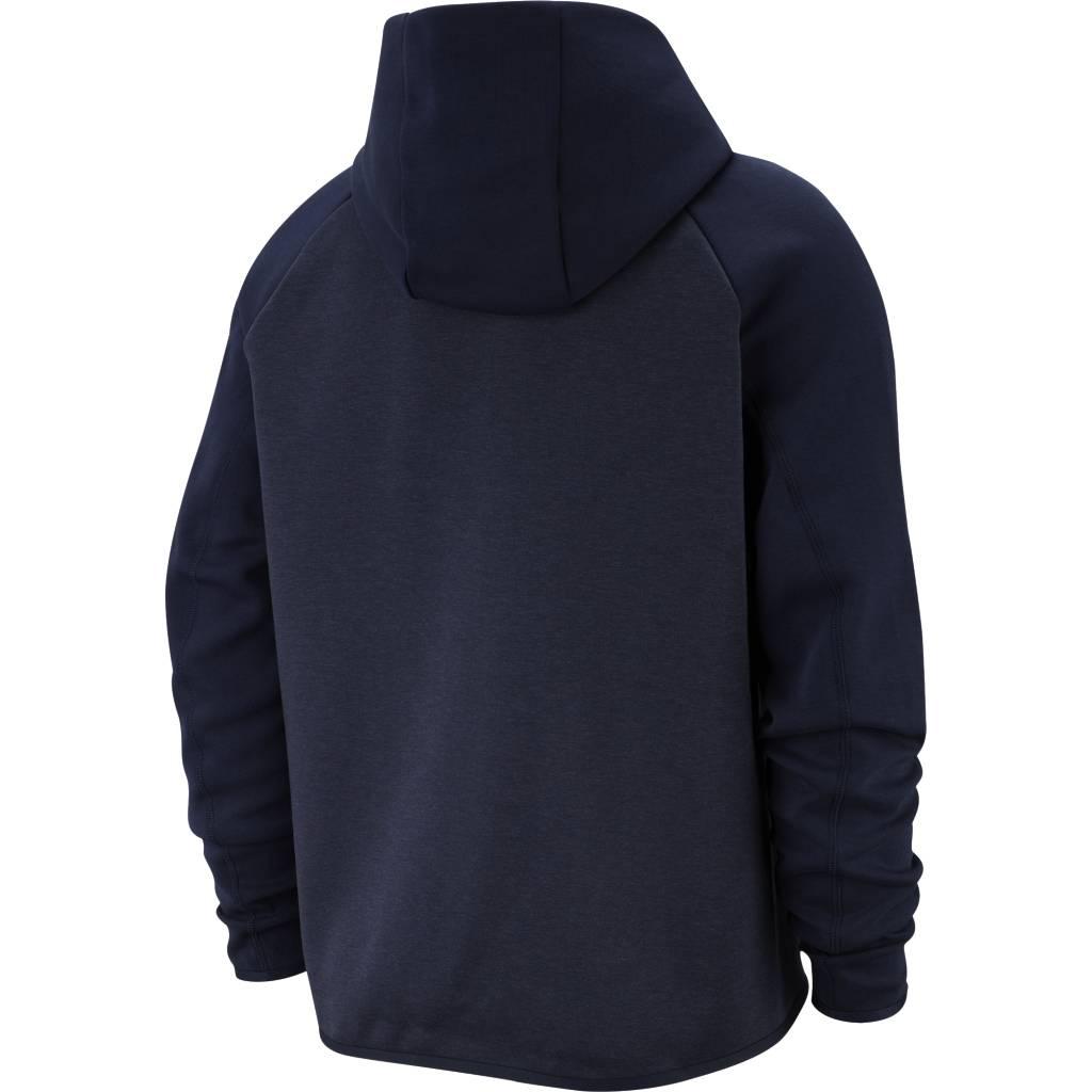 49baac79f98 Nike Tech Fleece Full-Zip Hoodie - Obsidian Heather | 928483-473 - MODA3