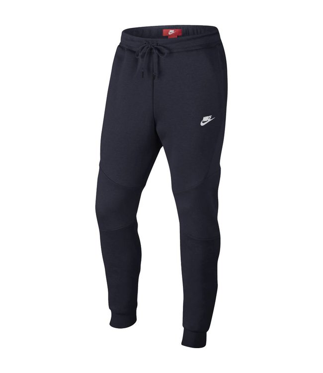 7e4cd33c5596b Nike Tech Fleece Jogger Pant - Obsidian/White/White | 805162-455 - MODA3