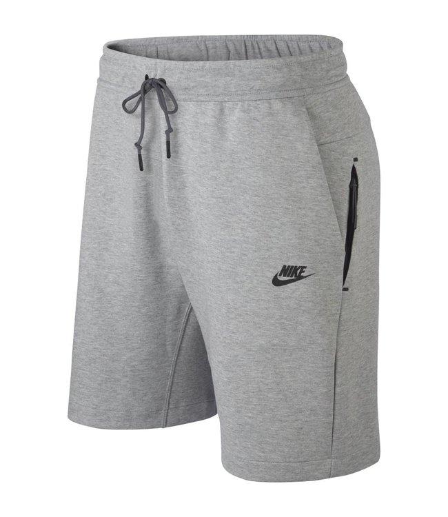 c44ab84e3024 Nike Tech Fleece Shorts - Dark Grey Heather