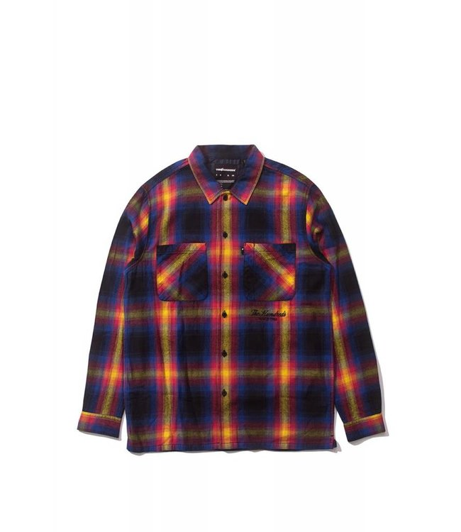 THE HUNDREDS Shades Button Up