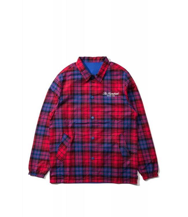 THE HUNDREDS Highland Reversible Coach's Jacket